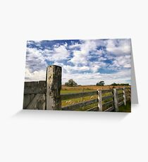 Alberta Farm Greeting Card