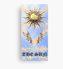 The Sun Tarot Canvas Print