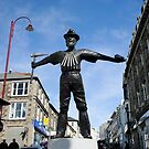 New Tin Miner Monument Redruth Cornwall by DonDavisUK