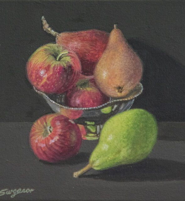 Apples and Pears by Freda Surgenor