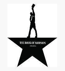 Buch Mormon - ein amerikanisches Musical Fotodruck