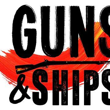 Guns & Ships - Hamilton by HenryBourke767