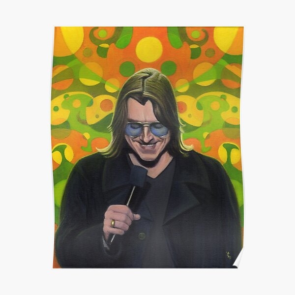 Mitch Hedberg Poster