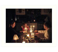 HANNAH & EARTH HOUR  MARCH 28th 2009   #6 Art Print