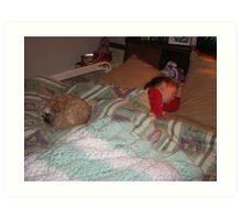 HANNAH & EARTH HOUR  MARCH 28th 2009   #8 Art Print