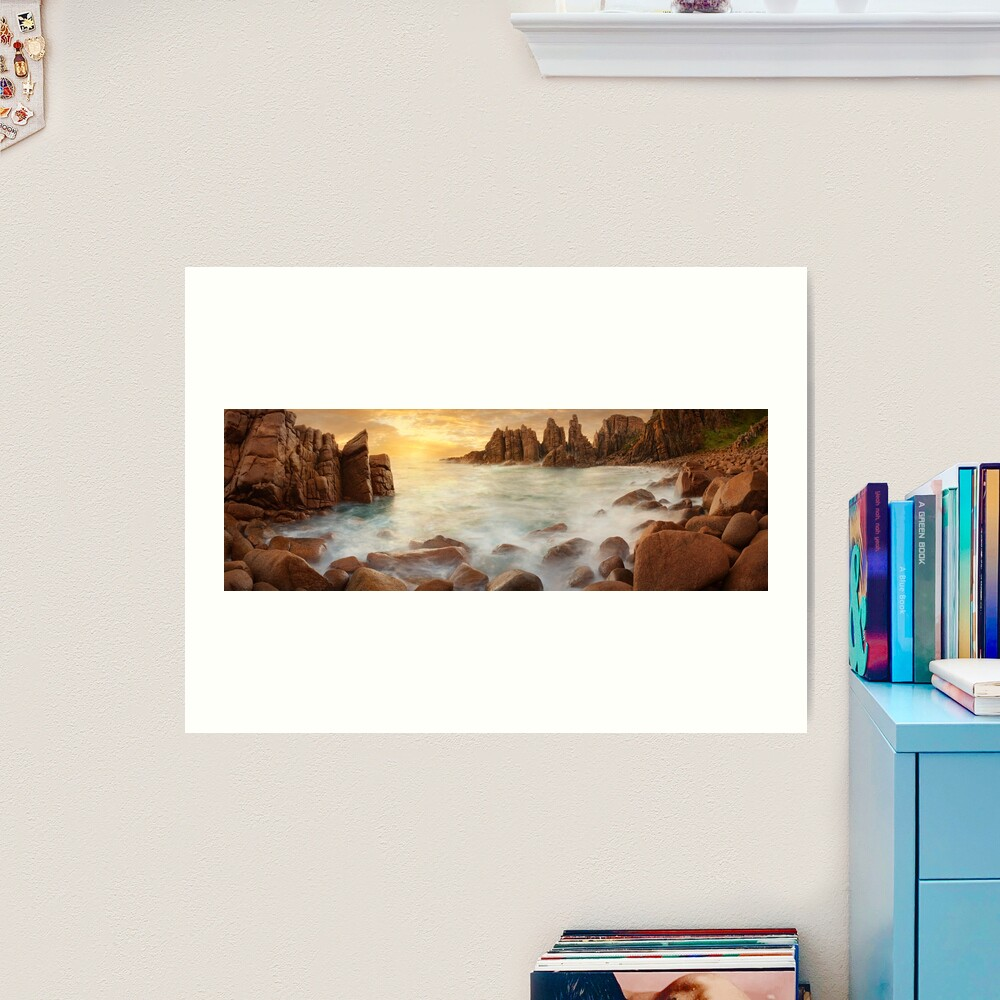The Pinnacles, Phillip Island, Victoria, Australia Art Print