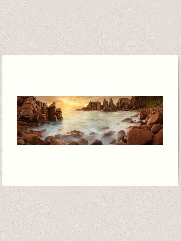 Alternate view of The Pinnacles, Phillip Island, Victoria, Australia Art Print