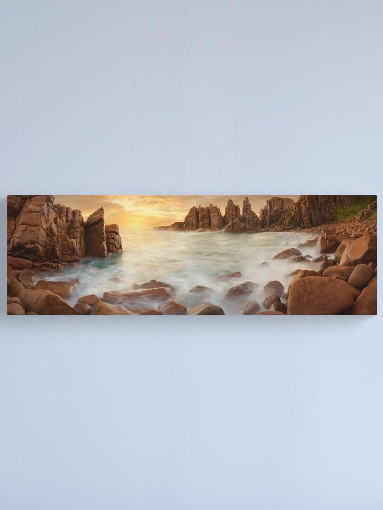 Alternate view of The Pinnacles, Phillip Island, Victoria, Australia Canvas Print