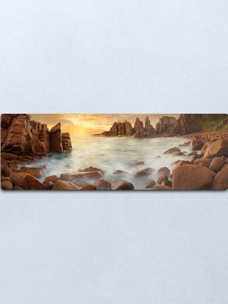 Alternate view of The Pinnacles, Phillip Island, Victoria, Australia Metal Print