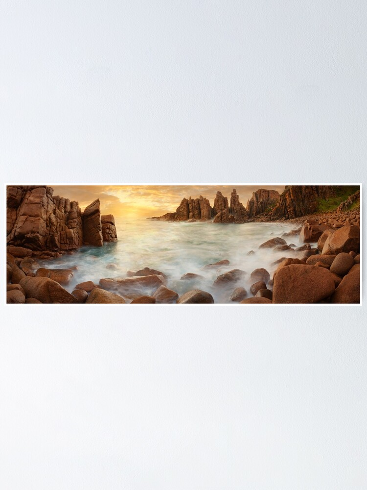 Alternate view of The Pinnacles, Phillip Island, Victoria, Australia Poster