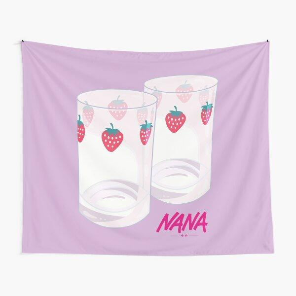 Nana - Vasos de fresa Tela decorativa