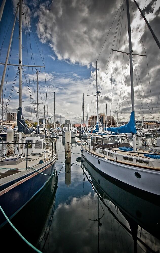 Sunny Docks by Kelly McGill