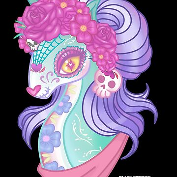 Sugar Skull Pony by CherryMartini