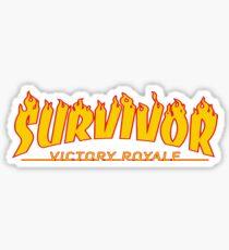 Survivor Victory Royale Sticker