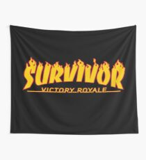 Survivor Victory Royale Wall Tapestry