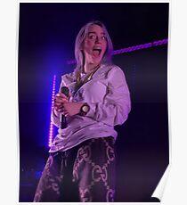 Billie Eilish Live; Funny Poster