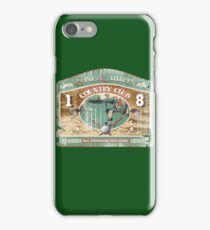golfers country club iPhone Case/Skin