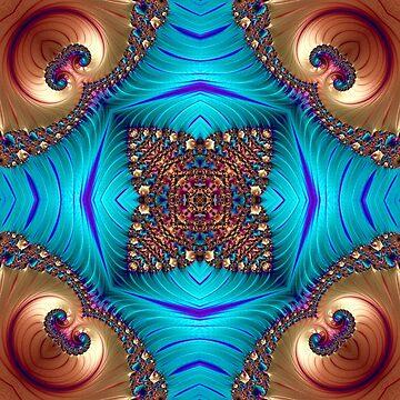 Fractal, mandala, pattern, art, science, spirituality, infinity, ornaments, dream, evolution, beautiful, kaleidoscope by lavalova
