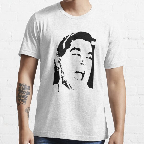 Ray Liotta Laugh mafia gangster movie Goodfellas black white Essential T-Shirt