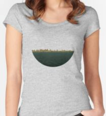 Skyless Composition 2 | Two Women's Fitted Scoop T-Shirt