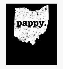 Pappy  Ohio  Super Grandpa Photographic Print