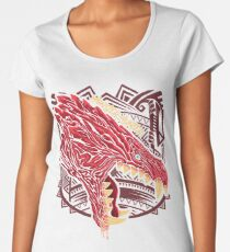 Odogaron Monster Hunter Women's Premium T-Shirt