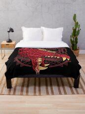 Odogaron Monster Hunter Throw Blanket