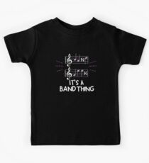 It's A Band Thing Music Geek Kids Tee