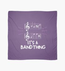 It's A Band Thing Music Geek Scarf