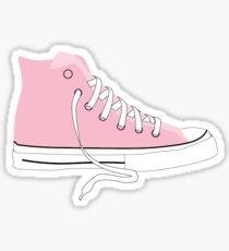 Pegatina Converse Sticker, Chuck Taylor, Chuck Taylors, Pink Sneaker Sticker, Pink Converse Sticker, Pink Shoe, Pink Shoe Sticker