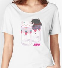 Nana & Hachi - Strawberry glasses Women's Relaxed Fit T-Shirt