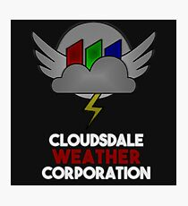 Cloudsdale Weather Corporation Photographic Print