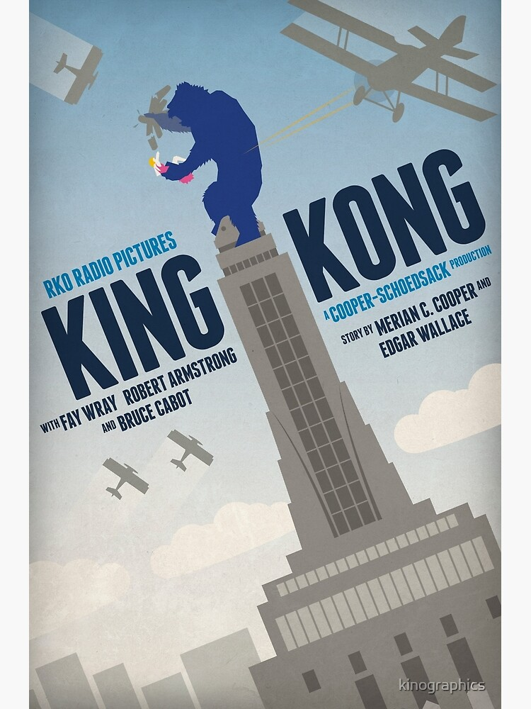King Kong 1933 Alternative Movie Poster Poster