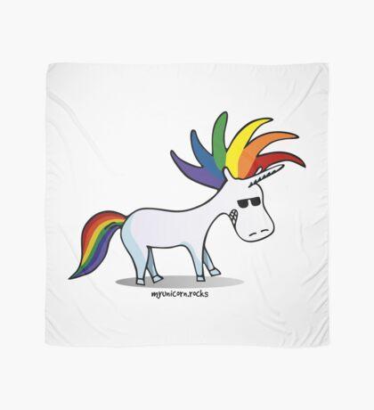 Punk Rainbow Unicorn Scarf