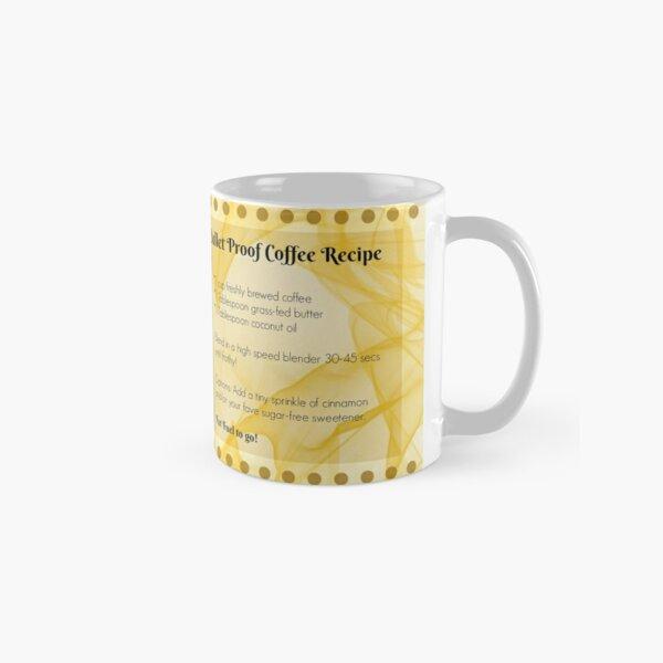 Keto Coffee Mug - Butter in my coffee? Keto  made me do it! Classic Mug