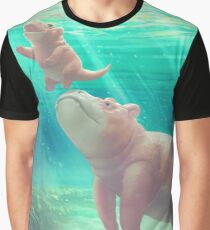 Swimming Lessons Graphic T-Shirt