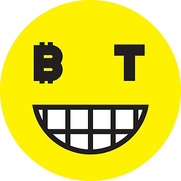 Bitcoin Grinning Smiley by Bitcoin-Smiley