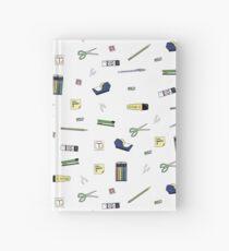 Office Supplies Hardcover Journal