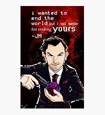 Moriarty- End your World.. Photographic Print