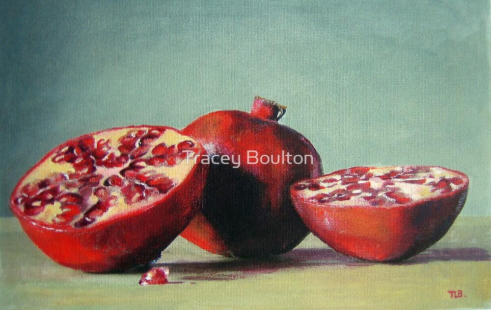 'Cut Pomegranates' by Tracey Boulton