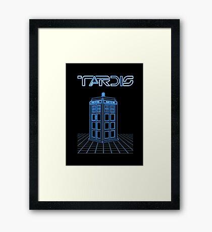 Retro Arcade Film Box  Framed Print