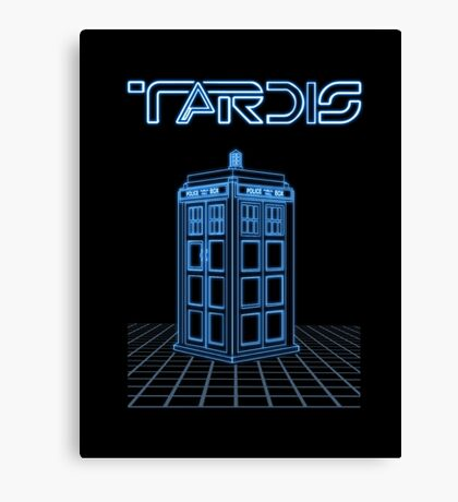 Retro Arcade Film Box  Canvas Print
