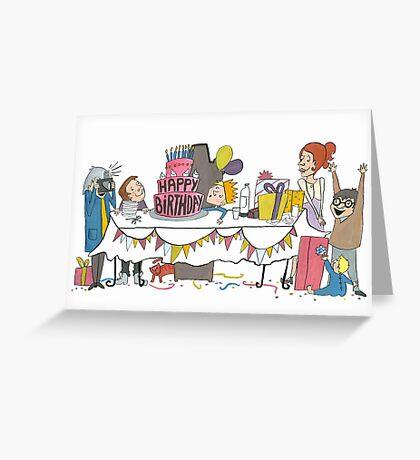 Birthdaycard Greeting Card