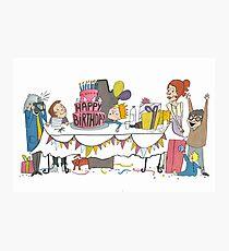 Birthdaycard Photographic Print