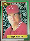 003 - Rick Mahler by Foob's Baseball Cards