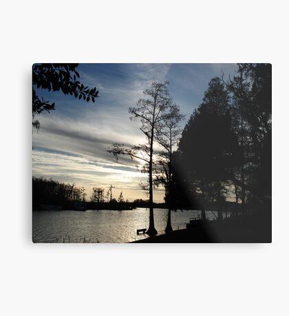 Mercurial Sunset - Bear Creek Metal Print
