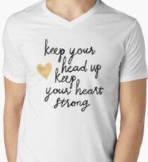 Keep Your Head Up Men's V-Neck T-Shirt
