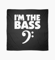 I'm the Bass (White) Scarf