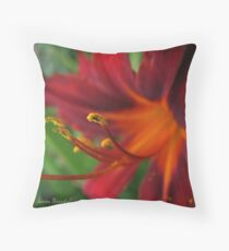 Firy Throw Pillow
