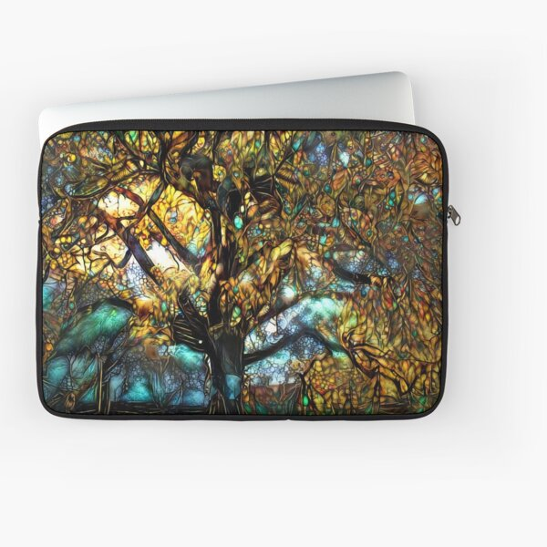 Redreaming Deep Dreamed Moreton Bay Jewel  Laptop Sleeve
